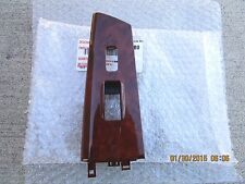 03 - 08 TOYOTA COROLLA PASSENGER SIDE POWER WINDOW SWITCH BEZEL WOOD GRAIN NEW