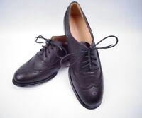 Bnib Smart Loire Ladies Black Brogue office Shoes uk 5 formal wear new in box