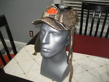 MENS/WOMENS CLEMSON TIGERS TOP OF THE WORLD NCAA CAMO TRAPPER DOG EAR CAP HAT