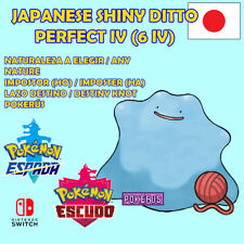 Ditto 6 IV shiny japanese Pokémon Sword Shield Espada Escudo. Crianza pokerus