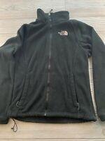 The North Face Jacket Womens Small Black Full Zip Fleece Jacket Coat Ladies