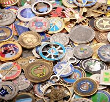25 Challenge Coins Random Grab Bag, Corporate, Personal, Military Challenge Coin