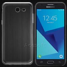 Crystal Soft TPU Silicone Case Cover for Samsung Galaxy J3 (2017) SM-J327U Phone