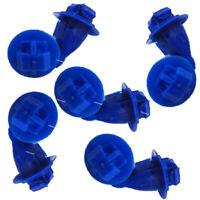 Set of 10 Fender Flare Nylon Retainer Clip Panel Pivots For Toyota 75495-35010