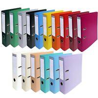 Exacompta A4 Permanente Touch PVC Faldoni - 2 Anelli - 70mm Spina - 23 Colori