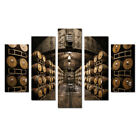 Wine Cellar Barrels Picture Painting Wall Art Canvas Print Poster Home Decor 5 P photo