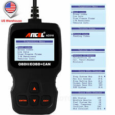 Car Engine Check Erase OBDII Auto Code Reader Diagnostic Scanner Tool Live Data