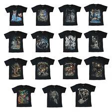 Cat / Wolf / Unicorn / Biker / Reaper Wild Kids T-Shirt Unisex 6 - 12 Years