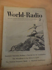 OLD VINTAGE WORLD RADIO TIMES 1930s MAGAZINE 9 APRIL 1937 BBC foreign programme