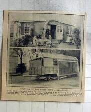 1914 Painter Mr Kickebusch Invents Mobile House, Four Rooms And A Kitchen