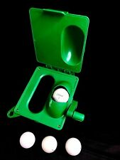 PORTABLE GOLF BALL WASHER & CLUB HEAD CLEANER GREEN