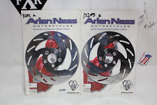 NEW Arlen Ness 02-644 02-645 Sweeper brake rotors Harley FXR FL Dyna XL EP12243