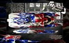 """BOAT HULL WRAP DECAL GRAPHICS KIT 'RIPPER' FOR PRO BOAT BLACKJACK 24"""" 42"""" HOP-UP"""
