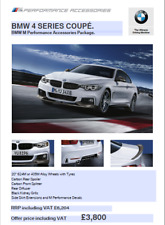 BMW F32 Genuine M Performance Bodykit With 405M or 624M Wheels and Tyres