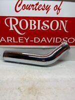 NOS OEM Harley-Davidson 65712-86 Chrome Heat Shield Rear XL Sportster