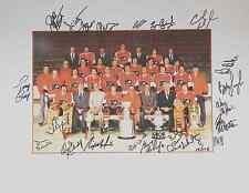 Philadelphia Flyers Stanley Cup Championship Team Photo 1975 Lmtd Edition 175
