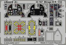 Eduard Zoom 33167 1/32 Dassault Mirage IIIR Italeri