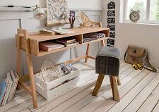 Schreibtisch, höhenverstellbar, Buche Massivholz, UVP 309 €