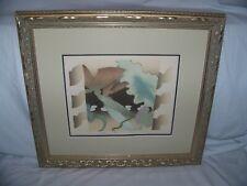 "Elizabeth Schippert(1949-)Artist, NJ, Ltd Ed Lithograph titled ""Amazon"" Signed"
