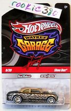2011 Hot Wheels WAYNE'S GARAGE #9 * SHOE BOX * CHASE BLACK VARIANT HTF