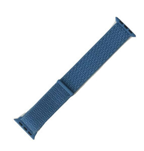Genuine Apple Watch Strap woven sport loop 2018 CAPE COD BLUE 44mm /42mm