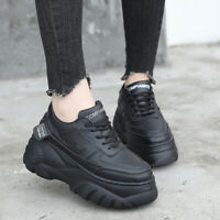 Womens Sneakers Sports Casual Walking Running Flat Platform Shoes Athletic Trend