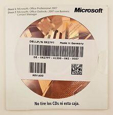 Office 2007 Professional Pro OEM mit CD Datenträger Vollversion Spanisch Spanish
