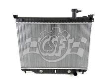 Radiator-1 Row Plastic Tank Aluminum Core CSF 3108