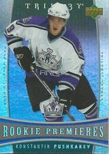 (HCW) 2006-07 Upper Deck Trilogy #116 CONSTANTINE PUSHKAREV Rookie NHL 00984
