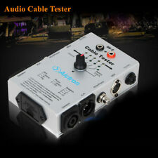 Multi-function Audio Cable Tester RCA XLR Tool Wire Detector for Sound System