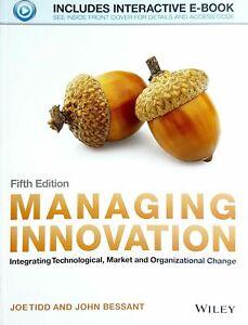 Managing Innovation Fifth Edition
