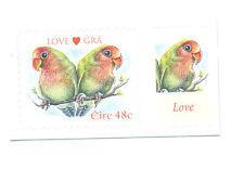 Parrots-Ireland single value mnh-self-adhesive-Birds