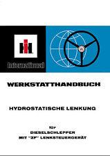 """IHC 955XL Hydrostatische Lenkung  für Dieselschlepper mit """"ZF"""" Lenksteuergerät"""