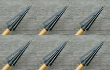 Woodsman Original 150 gr Screw In Traditional 3 Blade Broadheads - NEW 6 pack