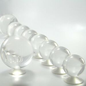100mm Contact Ball - 100% Crystal Clear Acrylic Ball - Manipulation Juggling
