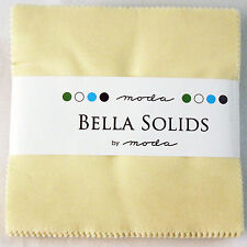 "Moda Bella Solids Snow Charm Pack - 42 5"" Fabric Squares"