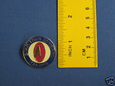 Star Trek 30th Anniversary Red & Blue Design Pin Badge 30Y6