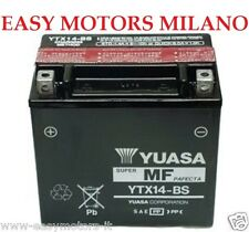 BATTERIA YUASA YTX14-BS BMW K1200S- R 1200 GS ADVENTURE R1200RT R1200ST K1300R S