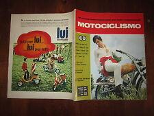 MOTOCICLISMO OTTOBRE 1969 NUMERO 10 B.S.A. ROCKET 750 TRIUMPH 750 LAMBRETTA LUI