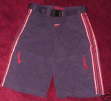 Boys Navy Red White Cargo Style Shorts Plugg Co 10