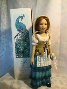 Maggie Made Iacono Doll Artist Felt *Lily* 2011 Longwood Gardens