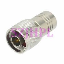 Dummy N plug male silver 1W watt RF coaxial test Termination load DC-2.5GHz 50Ω