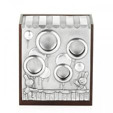 Royal Selangor - Pewter Balloon Coin Money Box - Bunnies Day Out - New  Boxed