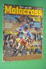 MOTOCROSS 4 APRILE 1993 APRILIA RX 125 R GILERA RC 125 R 600 R DONATO MIGLIO ...