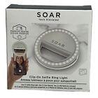 Soar Clip-on Selfie Ring Light New Sealed