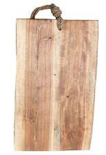 Naturel Bois d'Acacia cuisine à découper pain Board avec corde
