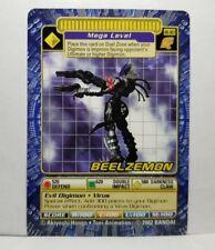 Rare Digimon Digi-Battle Card Game Booster Series 6 Beelzemon BO-303 NM