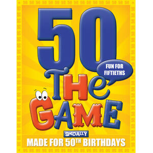 50th Birthday Gifts for Men or for Women: The 50th Birthday Game