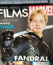 Marvel Movie Collection #53 Fandral Figurine (Thor) Eaglemoss revista French