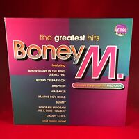BONEY M The Greatest Hits 1992 UK vinyl LP EXCELLENT CONDITION best of Rasputin